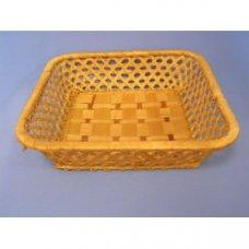 Корзина для хлеба квадратная коричневая 22*22*5см, Артикул: V1/142106, Производитель: