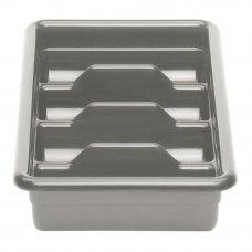 Емкость для столовых приборов 4 секции (светло-серая) Cambro , Артикул: 1120CBP 180, Производитель: Cambro (США)