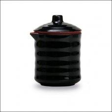 Соусник черно-красный 125мл