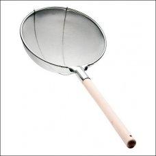 Сито (мелкая сетка) нержавеющее с деревянной ручкой d=350мм (DT-Y1801-35) , Артикул: 1597, Производитель: Китай