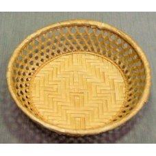 Корзина для хлеба круглая коричневая 23*6см, Артикул: TR6/142003, Производитель: Китай