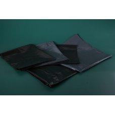 Мешок для мусора 200л 90*130см 80 мкм черный в пластах (50шт), Артикул: 23-0013, Производитель: ОптиЛайн (Россия)
