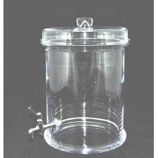 Емкость для настойки с краном 6л (d=215мм, h=300мм), Артикул: 92345Т, Производитель: Pasabahce (Турция)