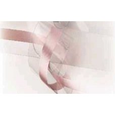 Лента-оборка 2-сл, h=4,5см, 50 м/рул прозрачная с РОЗОВОЙ полосой