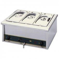 Мармит настольный электронный со сливным краном Roller Grill GN 1/1, Артикул: BM 3, Производитель: ROLLER GRILL (Франция)
