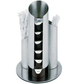 Диспенсер для пакетированных сливок/сахара APS d=11см h=17,5см, Артикул: 00073, Производитель: APS (Германия)