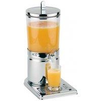 Диспенсер для соков, холод напитков, 4л h=43см колба пласт с 1 охлажд элем APS