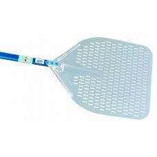 Лопата для пиццы прямоуг перфорированная алюминиевая Azzurra Gimetal 50*50см, l=150см
