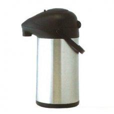 Термос нержавеющий вакуумный с помпой Tellier 3,5л, Артикул: N5086, Производитель: Tellier (Франция)