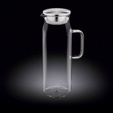 Кувшин с крышкой + нержавеющая сетка Thermo Glass 1,5л, Артикул: 888210, Производитель: Wilmax (Англия)