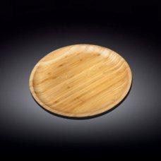 Блюдо для подачи круглая бамбук Wilmax d=23см, Артикул: 771033, Производитель: Wilmax (Англия)