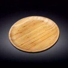 Блюдо для подачи круглая бамбук Wilmax d=30,5см, Артикул: 771036, Производитель: Wilmax (Англия)
