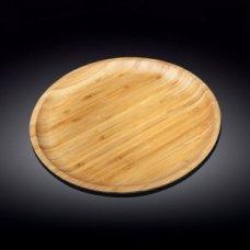 Блюдо для подачи круглая бамбук Wilmax d=33см, Артикул: 771037, Производитель: Wilmax (Англия)