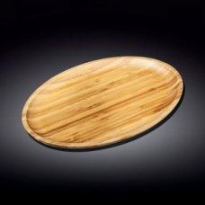 Блюдо для подачи овальная бамбук Wilmax 35,5*24,5см