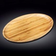 Блюдо для подачи овальная бамбук Wilmax 45,5*33,5см