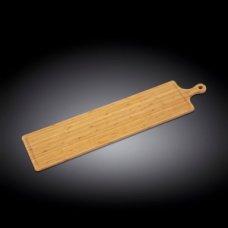 Доска для подачи с ручкой бамбук Wilmax 87*20см, Артикул: 771137, Производитель: Wilmax (Англия)