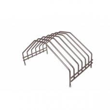 Подставка для досок нержавеющая на 6 штук MGSteel 43*25*22,5см, Артикул: WSC25, Производитель: MGSteel (Индия)