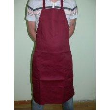 Фартук повара с грудкой бордо, Артикул: 31544, Производитель: Мастергласс (Россия)