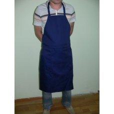 Фартук повара с грудкой темно-синий, Артикул: 31545, Производитель: Мастергласс (Россия)