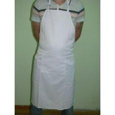 Фартук повара с грудкой белый, Артикул: 31543, Производитель: Мастергласс (Россия)