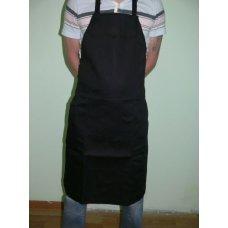 Фартук повара с грудкой черный, Артикул: 31542, Производитель: Мастергласс (Россия)