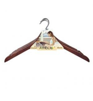 Вешалка для одежды деревянная, без перекладины, Артикул: AHR196, Производитель: