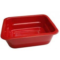 Гастроемкость из фарфора GN 1/2 h=100мм (красная), Артикул: 220110RD, Производитель: Pillivuyt (Франция)