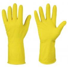 Перчатки хозяйственные латексные OptiLine M (1 пара) , Артикул: 27-2129, Производитель: Оптиком (Россия)