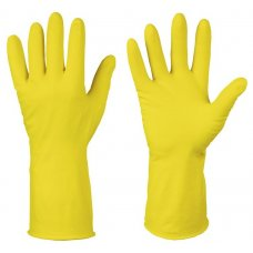 Перчатки хозяйственные латексные OptiLine S (1 пара) , Артикул: 27-2131, Производитель: Оптиком (Россия)