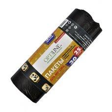 Мешок для мусора черный OptiLine 30л, 25шт, Артикул: 23-1002, Производитель: