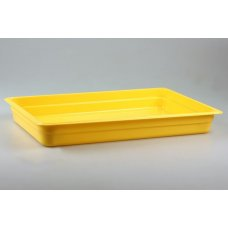Гастроемкость полипропиленовая GN 1/1 h=65мм (желтая)