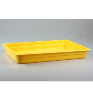 Гастроемкость полипропиленовая GN 1/1 h=65мм (желтая), Артикул: 422107306, Производитель: Рестола (Россия)