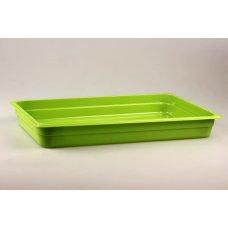 Гастроемкость полипропиленовая GN 1/1 h=65мм (зеленая)