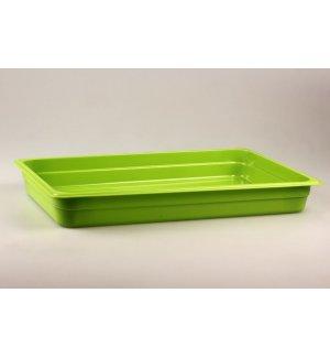 Гастроемкость полипропиленовая GN 1/1 h=65мм (зеленая), Артикул: 422107309, Производитель: Рестола (Россия)