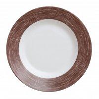 Тарелка глубокая, коричневая Color Days Arcoroc d=220мм