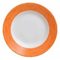 Тарелка глубокая, оранжевая Color Days Arcoroc d=220мм