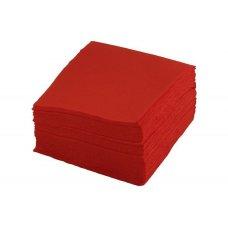 Салфетки однослойные красные 400 штук (24*24см), Артикул: 1760, Производитель: Мастергласс (Россия)