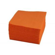 Салфетки однослойные оранжевые 400 штук (24*24см), Артикул: 1760, Производитель: Мастергласс (Россия)