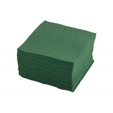 Салфетки однослойные зеленые 400 штук (24*24см), Артикул: 1760, Производитель: Мастергласс (Россия)