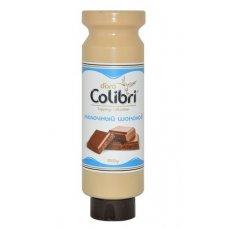 Молочный шоколад топпинг Золотая Колибри 1кг