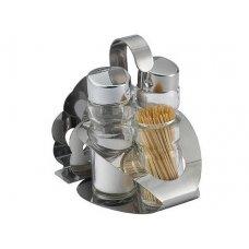 Набор для специй с салфетницей Спайс 3 предмета, Артикул: 419А, Производитель: