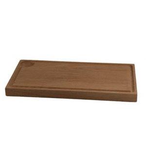 Доска для стейка с бороздкой Linden 320*170*20мм, дуб, Артикул: 55092, Производитель: Linden (Швеция)