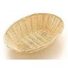 Корзина для хлеба овальная полипропиленовая 23*15*6см, Артикул: 3001, Производитель: Gastrorag (Китай)