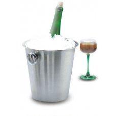 Ведро для шампанского нержавеющее MGSteel 4л, 21*22см