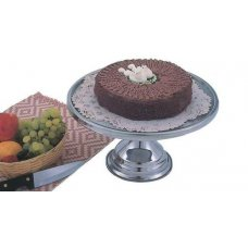 Подставка для торта нержавеющая MGSteel d=32см, h=17,5см, Артикул: CKS1, Производитель: MGSteel (Индия)
