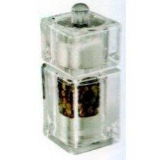 Мельница для перца и соли квадратная акриловая Abert 9*4 см, Артикул: AVARI075A, Производитель: Abert (Италия)