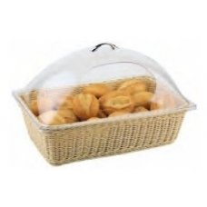 Корзина для хлеба прямоугольная из полиротанга APS 53*32,5*15,5см, Артикул: 40129, Производитель: APS (Германия)
