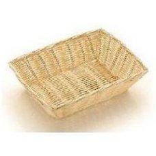 Корзина для хлеба прямоугольная полипропиленовая 23*15*6,5см, Артикул: 3004, Производитель: