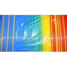 Трубочки коктейльные цветные прямые 1000 штук (0,5*21см)