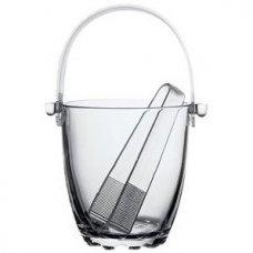 Емкость для льда с щипцами Сильвана d=120мм, Артикул: 53628, Производитель: Pasabahce-завод Бор (Россия)